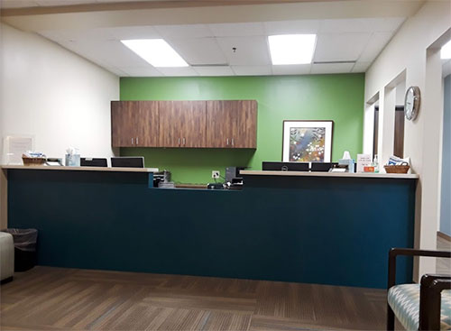 Front desk at  Fay Periodontal Associates